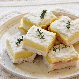 Лимонов крем пай