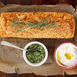 Тиквен хляб с розмарин