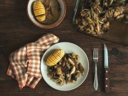 Есенно печено с Хаселбак картофи